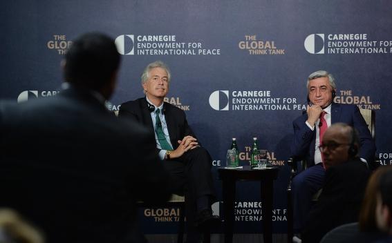 President Serzh Sargsyan Meets With Representatives Of U S Expert