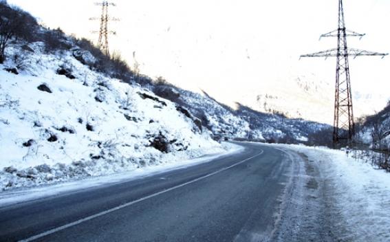 Дороги на территории Армении в основном проходимы