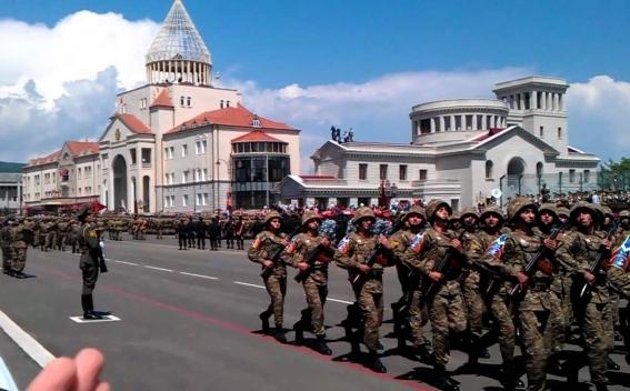 Президент Республики Арцах Бако Саакян направил поздравительное послание в связи с Днем защитника Отечества