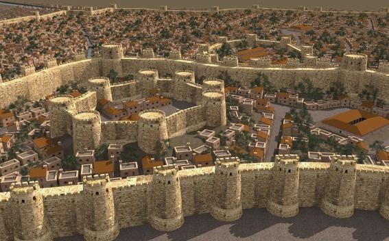3D Pictures of Ancient Armenian City Dvin