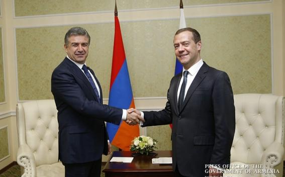 Կարեն Կարապետյանը առանձնացրույց է ունեցել Դմիտրի Մեդվեդևի հետ