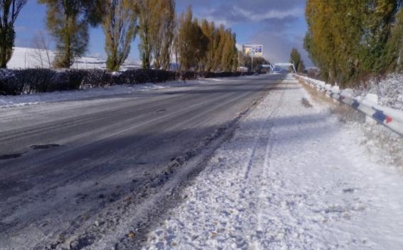 В Армении из-за метели закрыта автодорога Берд-Чамбарак