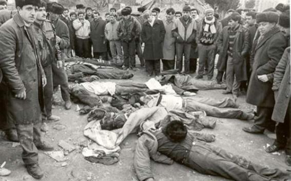 Sumgait Massacres of the Armenian Population