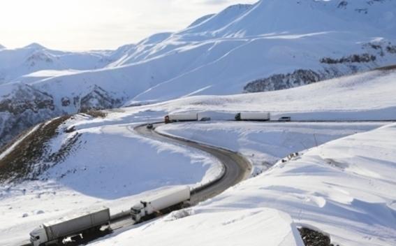 Минтранс Армении предупреждает о снеге и гололеде на дорогах республики