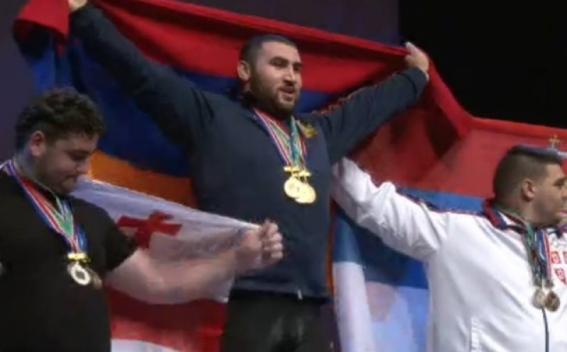Սիմոն Մարտիրոսյանը՝ աշխարհի երիտասարդական առաջնության չեմպիո....
