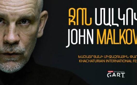 Легенда Голливуда Джон Малкович выступит в Ереване: стартует Международный фестиваль Арама Хачатуряна