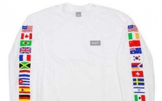 Флаг Арцаха появился на свитерах известного американского бренда HUF