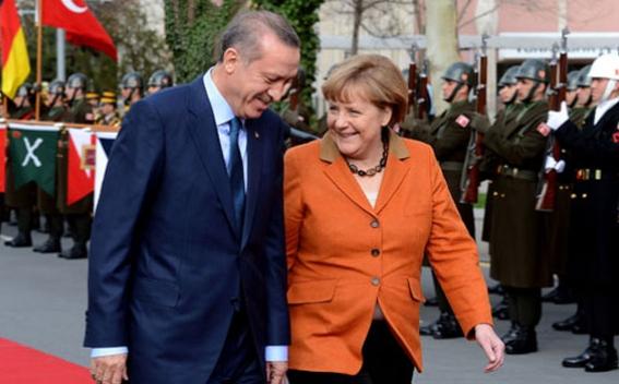 Slikovni rezultat za erdogan merkel phone talk