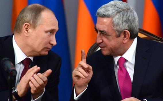 Путин провел телефонный разговор с Сержем Саргсяном: президент России желает успехов новому премьеру Армении