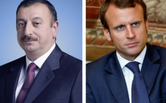 Макрон - Алиеву: Франция привержена мирному урегулированию карабахского конфликта