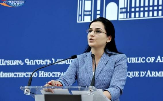 МИД Армении: Спекуляции на теме Геноцида армян на фоне напряженности в отношениях Израиля с Турцией неприемлемы