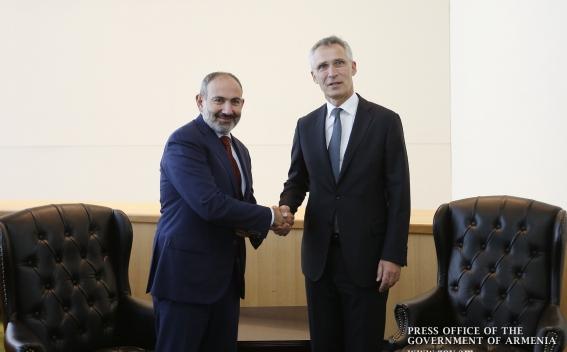 Армения – важный партнер для НАТО: Йенс Столтенберг - Николу Пашиняну