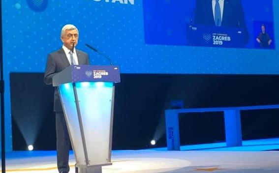 Серж Саргсян на заседании ЕНП: Арцах никогда не будет в составе Азербайджана