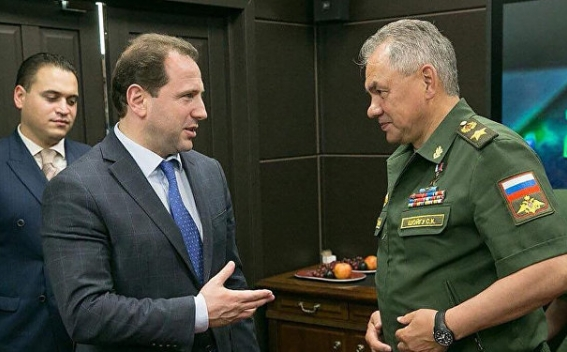 Davit Tonoyan Met With Minister of Defense of the Russian Federation Sergey  Shoygu