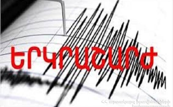 Երկրաշարժ Շորժա գյուղից 5 կմ հյուսիս-արևելք