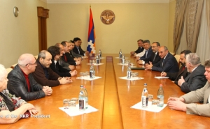 Bako Sahakyan: Free and Transparent Elections One of the Achievements of NKR