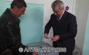 Ashot Ghulyan: These Elections Can Contribute to Strengthening Democracy in Artsakh