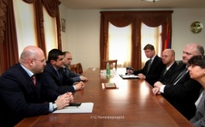 NKR Prime Minister Received Group of German Observers