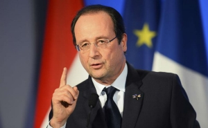 Hollande: Fabius's Visit to Tehran a Key Test for Iran
