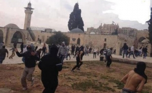 Clashes in the Temple Mount Resume