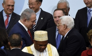 Netanyahu and Abbas Shook Hands for the First Time in Years