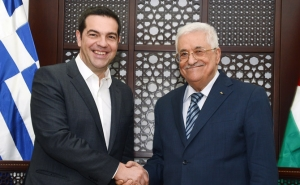 Greece Will Welcome Abbas with Recognition Resolution