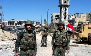 Syrian Forces Destroyed IS Strongholds in Damascus