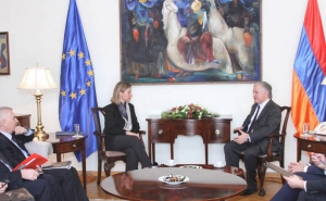 Federica Mogherini: Establishment of Firmer Cooperation Between the EU and Armenia is Beneficial for the Whole Region