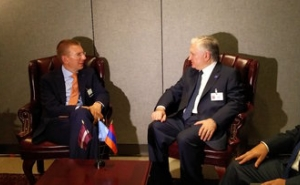 Armenian and Latvian Foreign Ministers Discussed Armenia-European Union relations