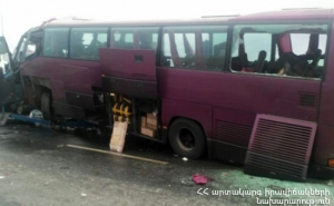 Five People Killed at Moscow-Yerevan Bus Accident