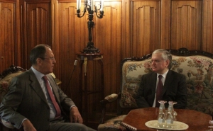Nalbandian and Lavrov Discussed Karabakh Conflict in Moscow