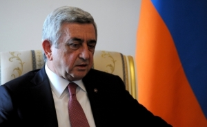President Serzh Sargsyan Sent a Letter of Condolences to the President of Iran Hassan Rouhani