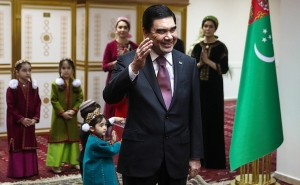"""Hero of Turkmenistan"" Wins Presidential Elections with 97.69%"