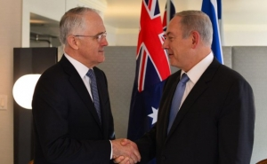 Australian PM Said Would Never Support One-Sided Resolutions Criticizing Israel