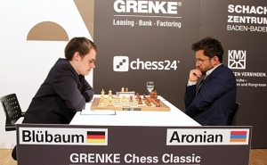 Levon Aronian Leads Grenke Chess Classic