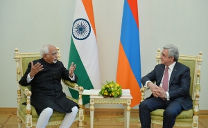 The RA President and the Vice-President of India Discussed Bilateral Relations