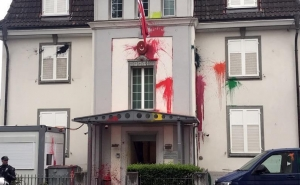 """Kill Erdogan"": A Group of Masked People Attacked Turkish Consulate in Zurich"