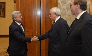 RA President Received the Governor of Saint Petersburg