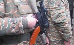 NKR Defense Army Soldier Wounded by the Azerbaijani Gunfire