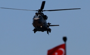 Turkish Military Helicopter Crashed Near the Border with Iraq