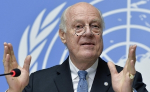 Russia Continues to Support de Mistura's Efforts on Syria