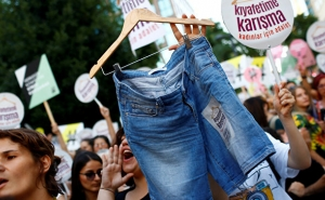 Turkish Women March in Rights Protest in Istanbul