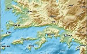 Near the Coast of Turkey an Earthquake was Recorded