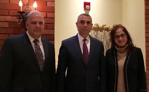 Foreign Minister of Artsakh Met With Members of the Armenian Assembly of America's Delegation