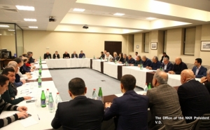 Joint Consultation Chaired by Artsakh President and Armenian Prime Minister