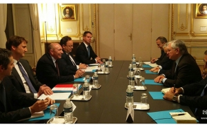 Foreign Minister Nalbandian Discussed Visa Liberalization Between Armenia and the EU with Minister of the Interior of France