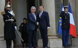 Macron Received the RA President at the Elysee Palace