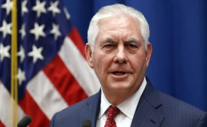 Tillerson Starts a Tour in the Middle East