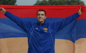 Istanbul: Armenian Track & Field Athlete Wins Gold at Balkan Championship