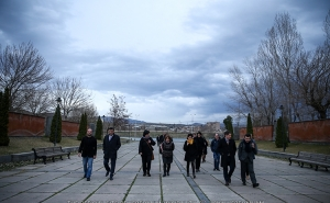 The Members of the Delegation of Lyon Visited Lyon Park in Yerevan